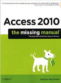 Access 2010 The Missing Manual-Matthew MacDonald